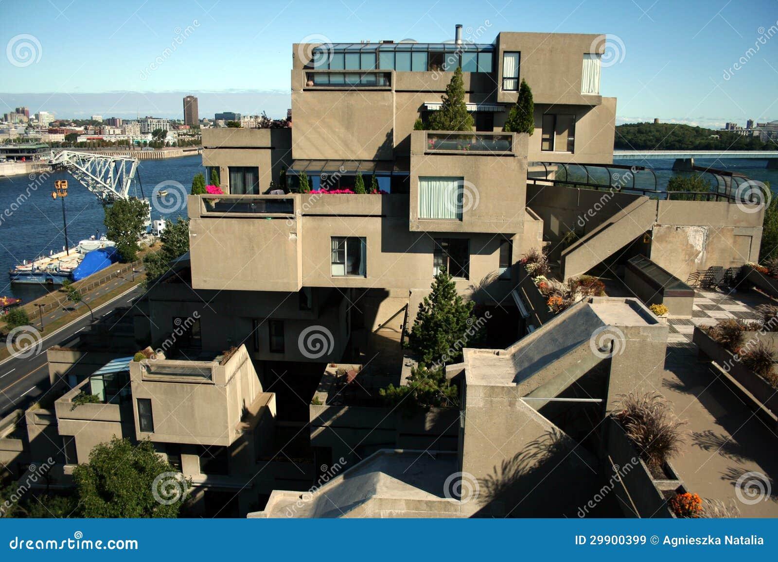 Habitat 67 in Montreal, Canada