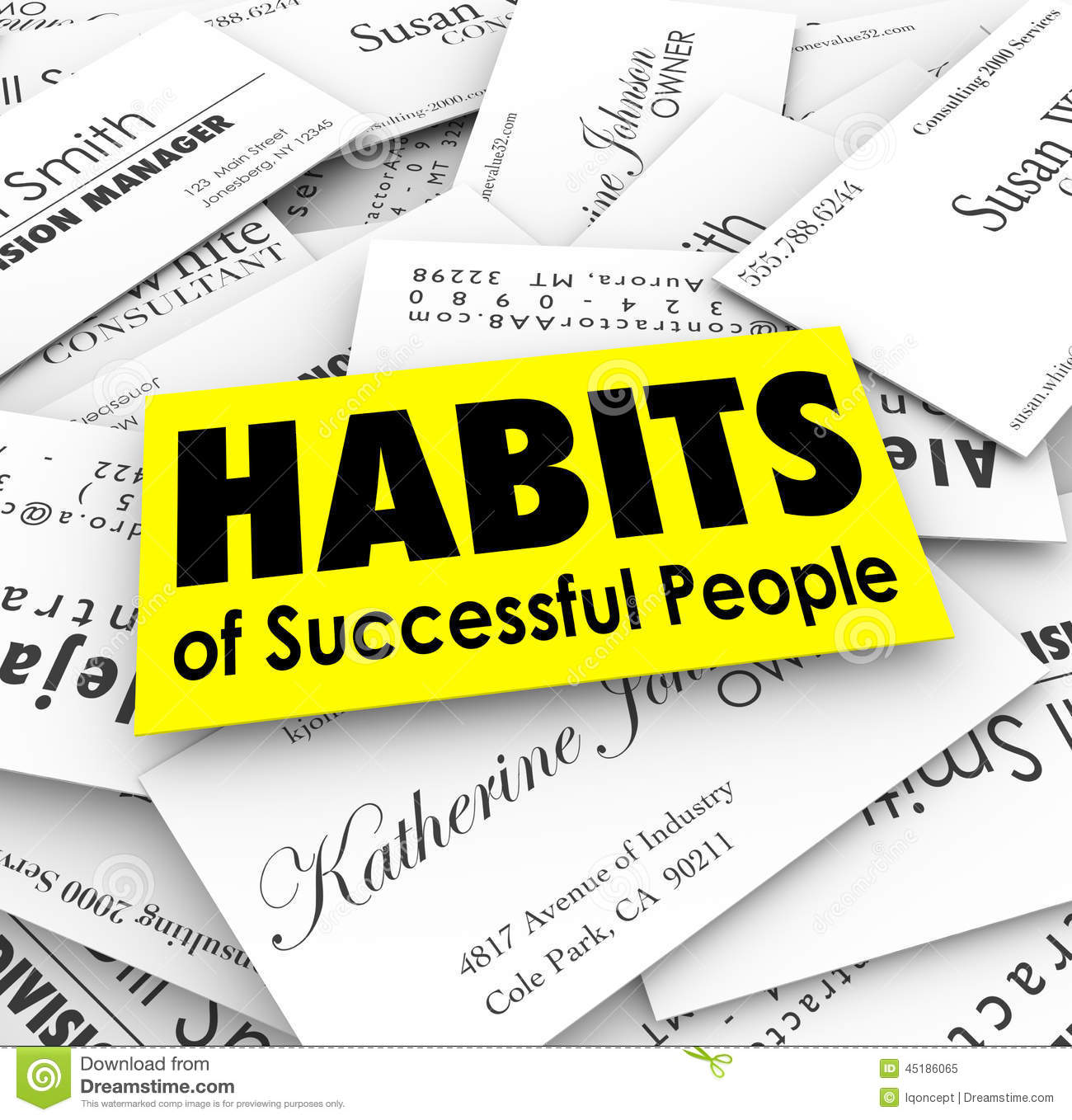 successful careers people royalty stock photos image  habits of successful people business cards royalty stock photo