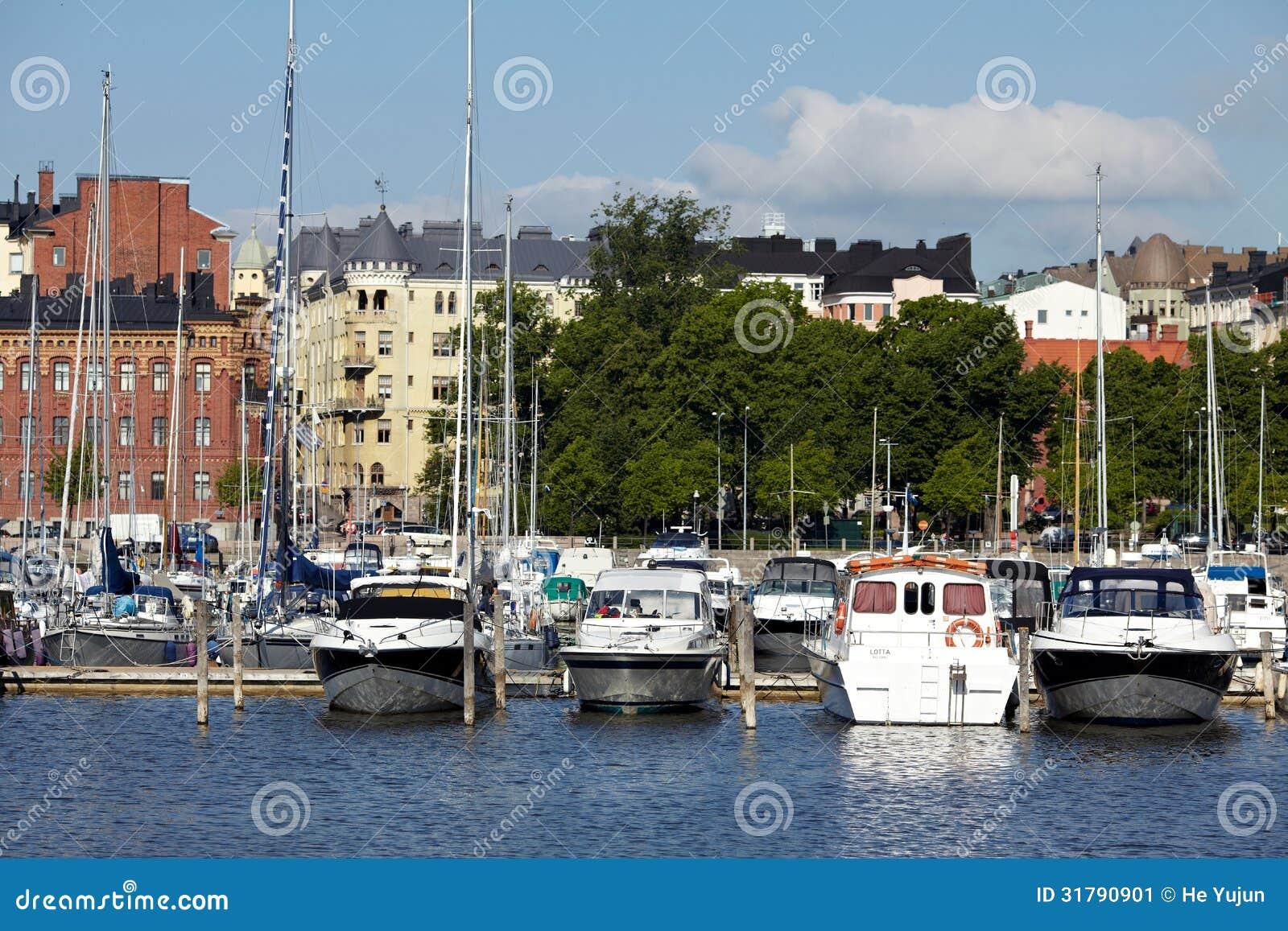 Habour-Ansicht von Helsinki