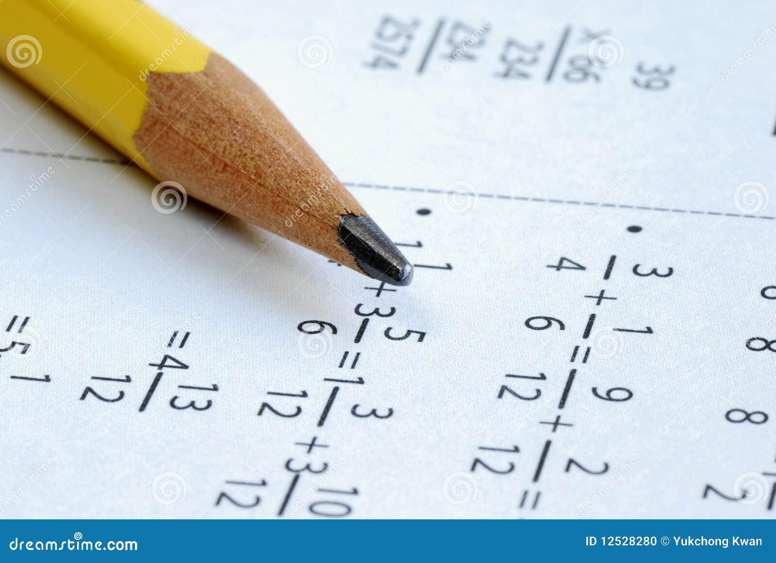 Hacer una cierta matemáticas de la escuela de grado