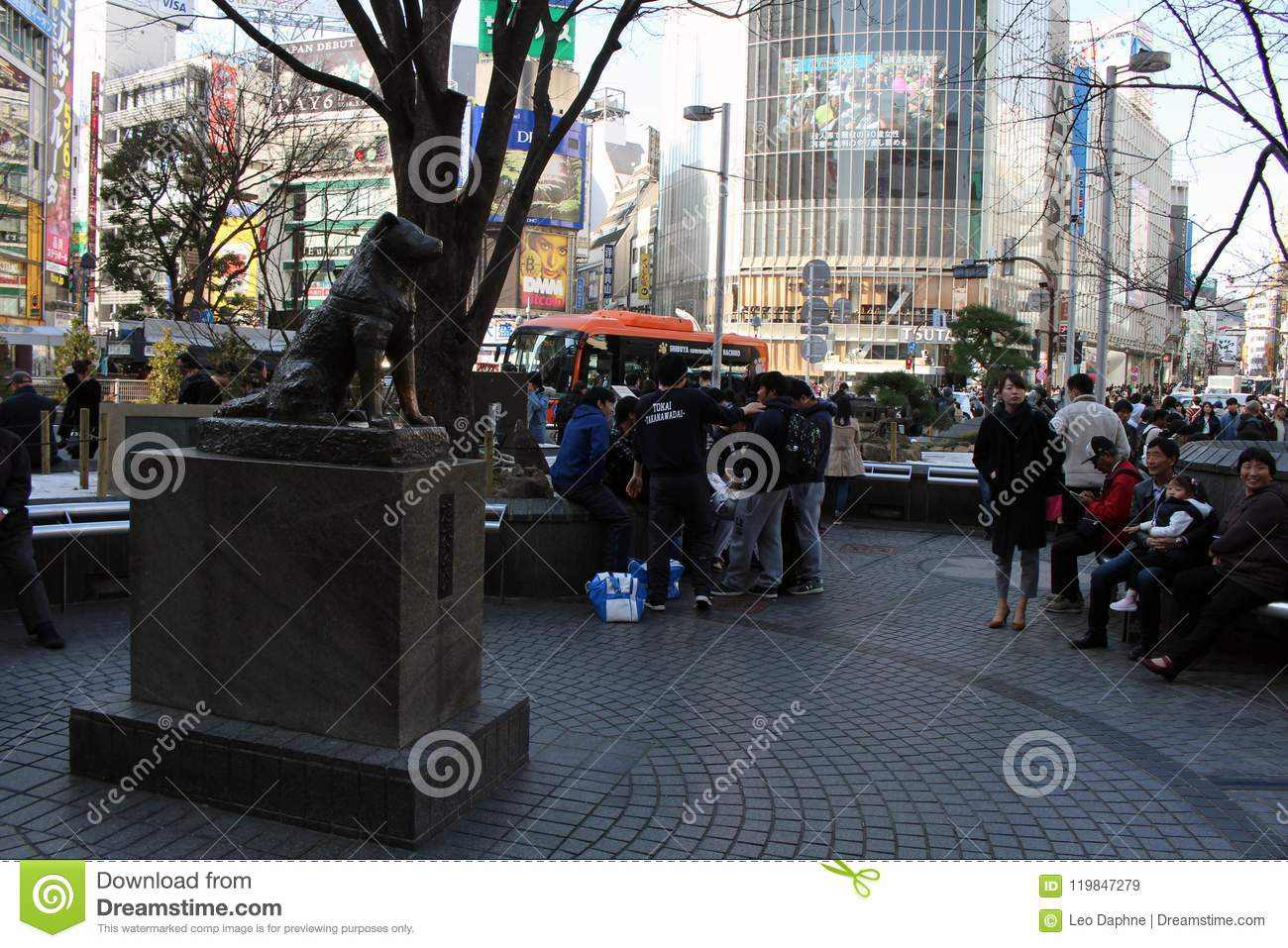 The Hachiko Statue That`s Famous For Its Loyalty Editorial ...