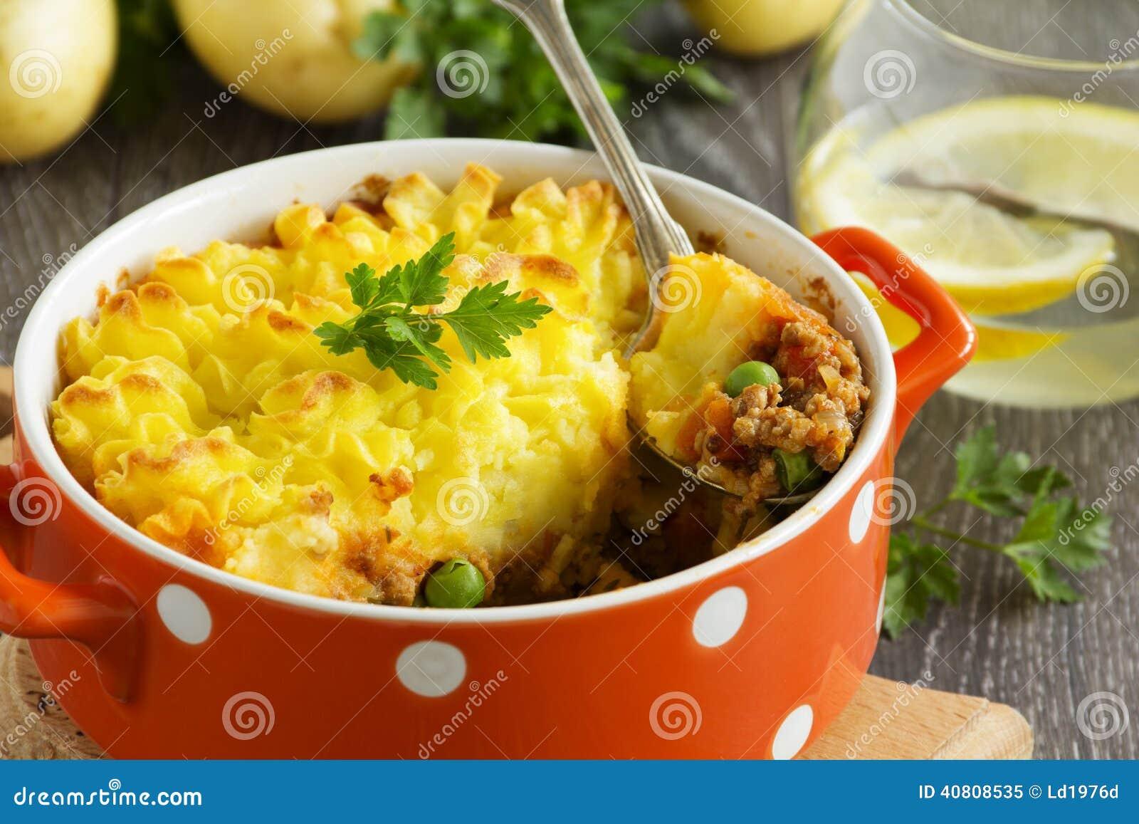 Hachis parmentier cuisine anglaise image stock image du for Anglaise cuisine
