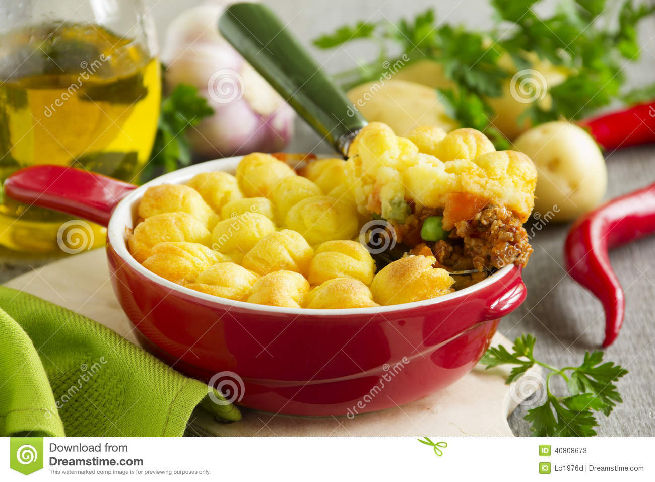 Hachis parmentier cuisine anglaise photo stock image for Anglaise cuisine