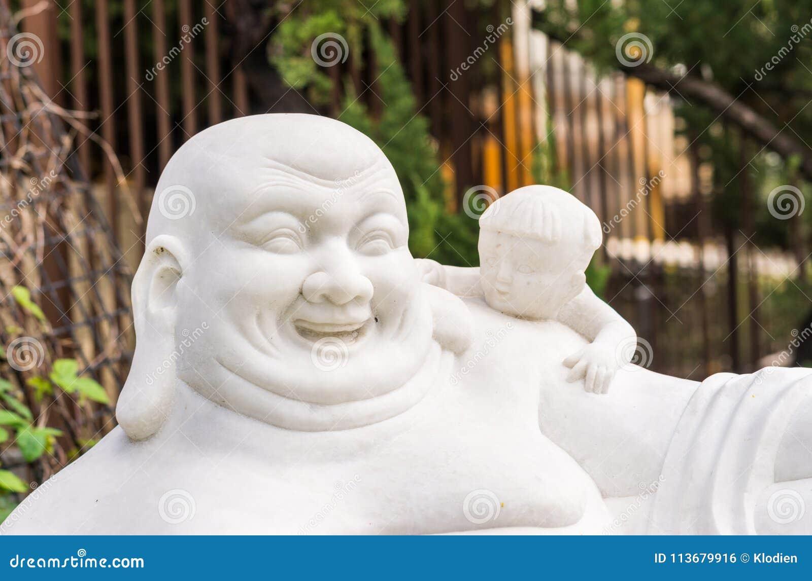 Feng Shui Buddha At Hsi Lai Buddhist Temple California Editorial