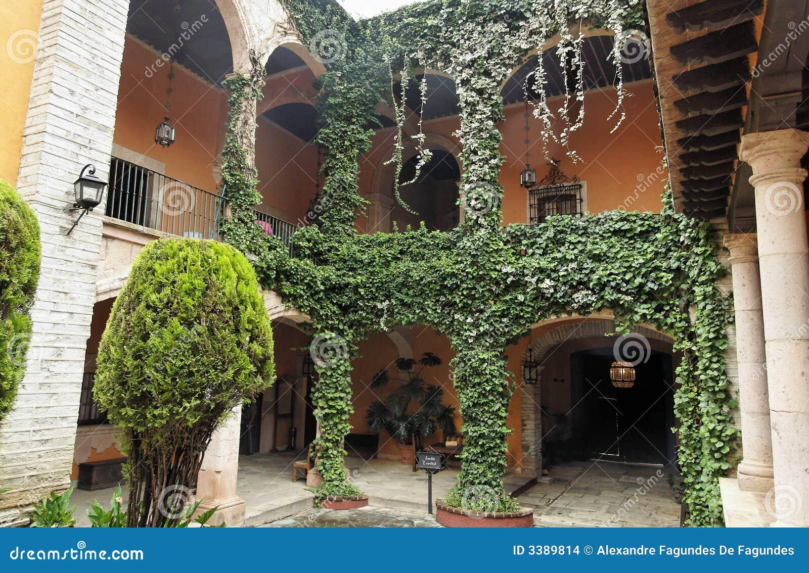 Colonial Garden Guanajuato Hacienda Heartland Inner ...