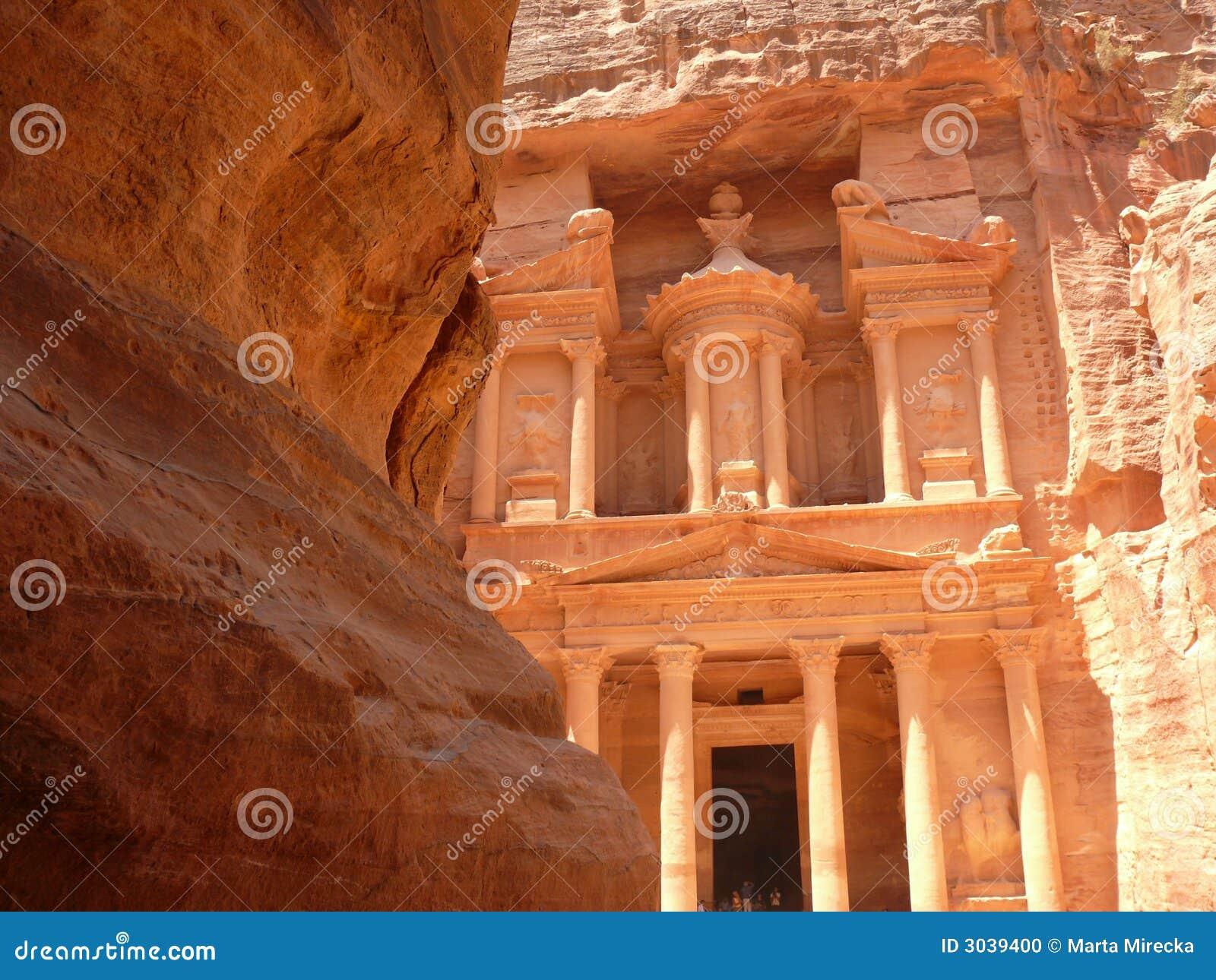 Hacienda, Siq, Petra, Jordania