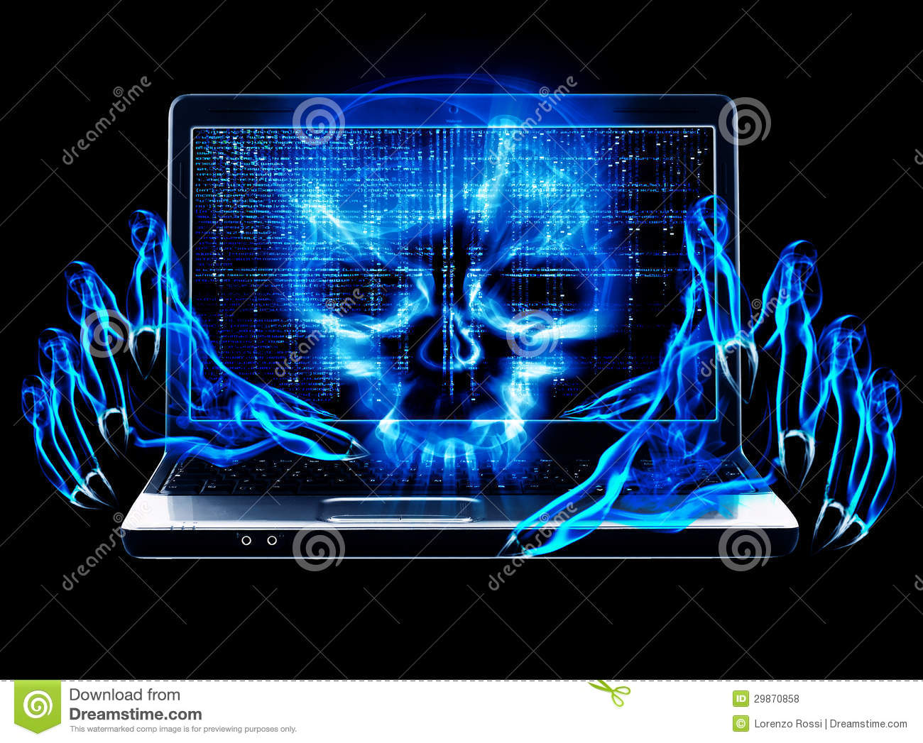 Hacker Attack Concept Royalty Free Stock Photos Image