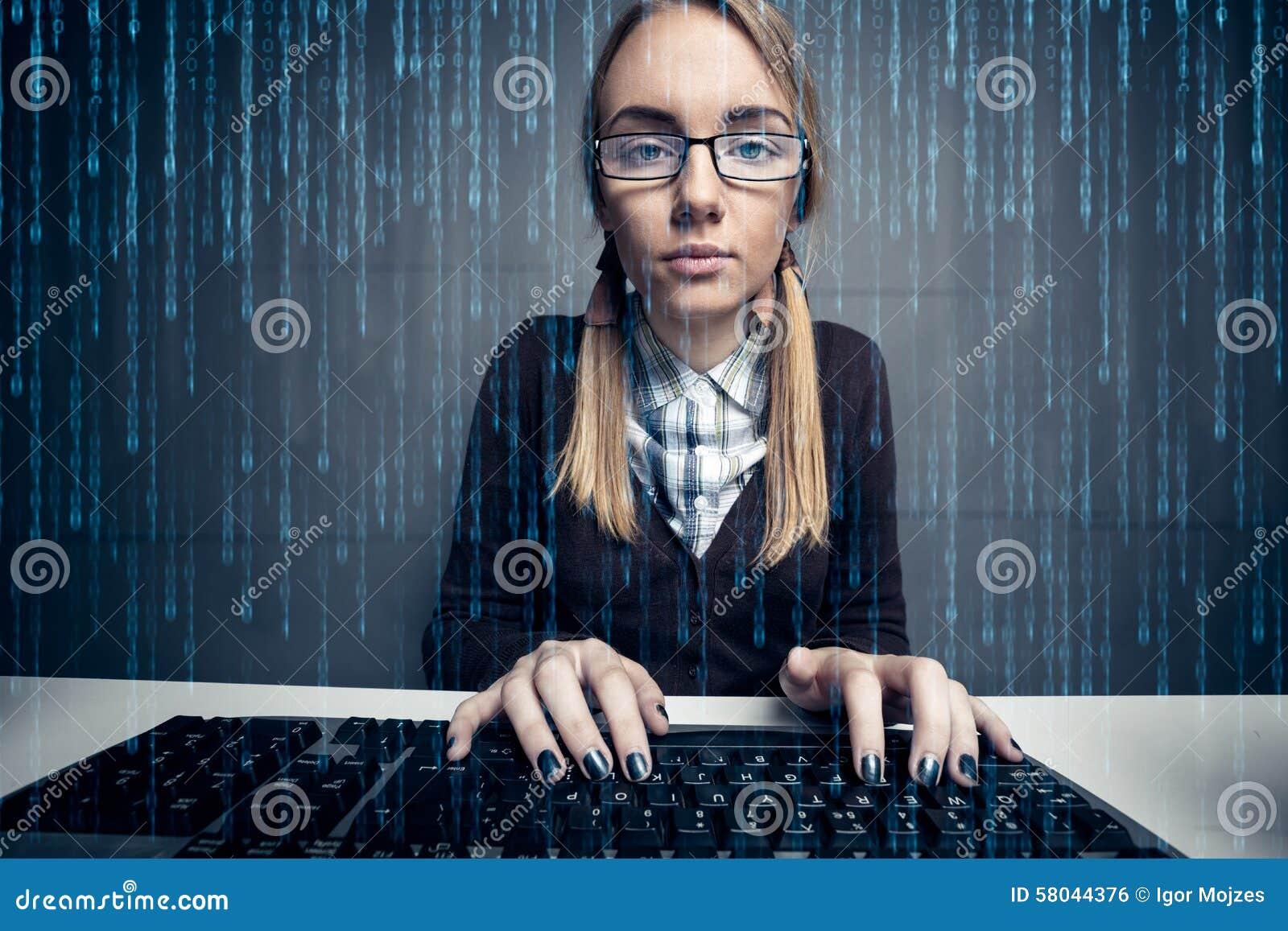 Hacker da menina do lerdo
