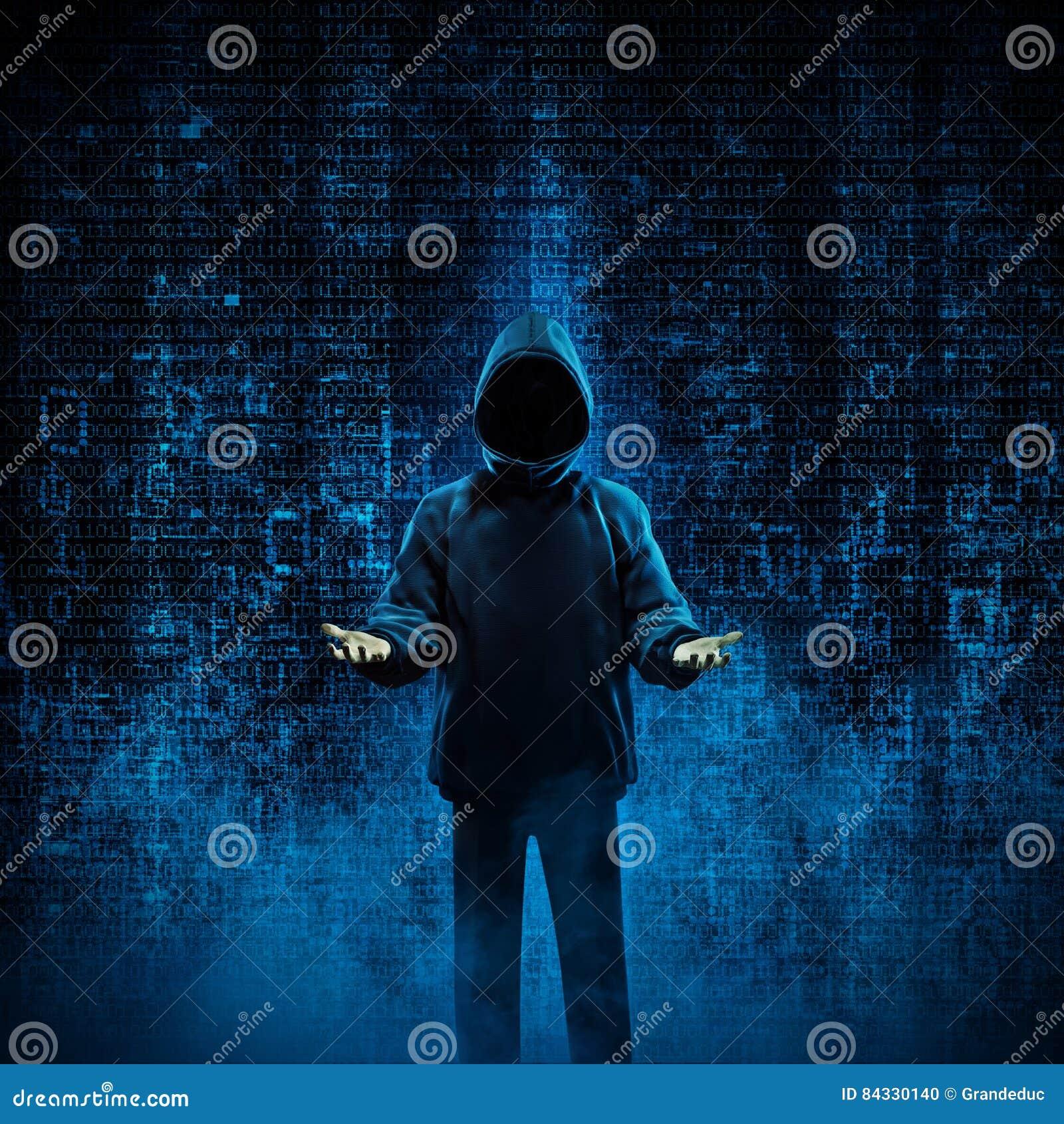 Hacker For Hire Illustration 84330140 - Megapixl