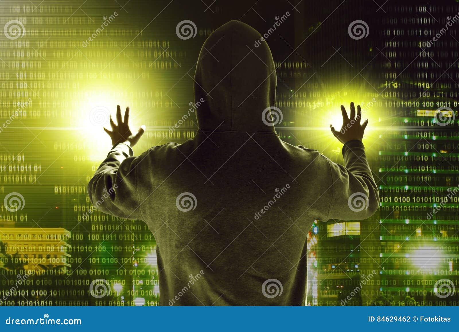 Hacker kraść dane