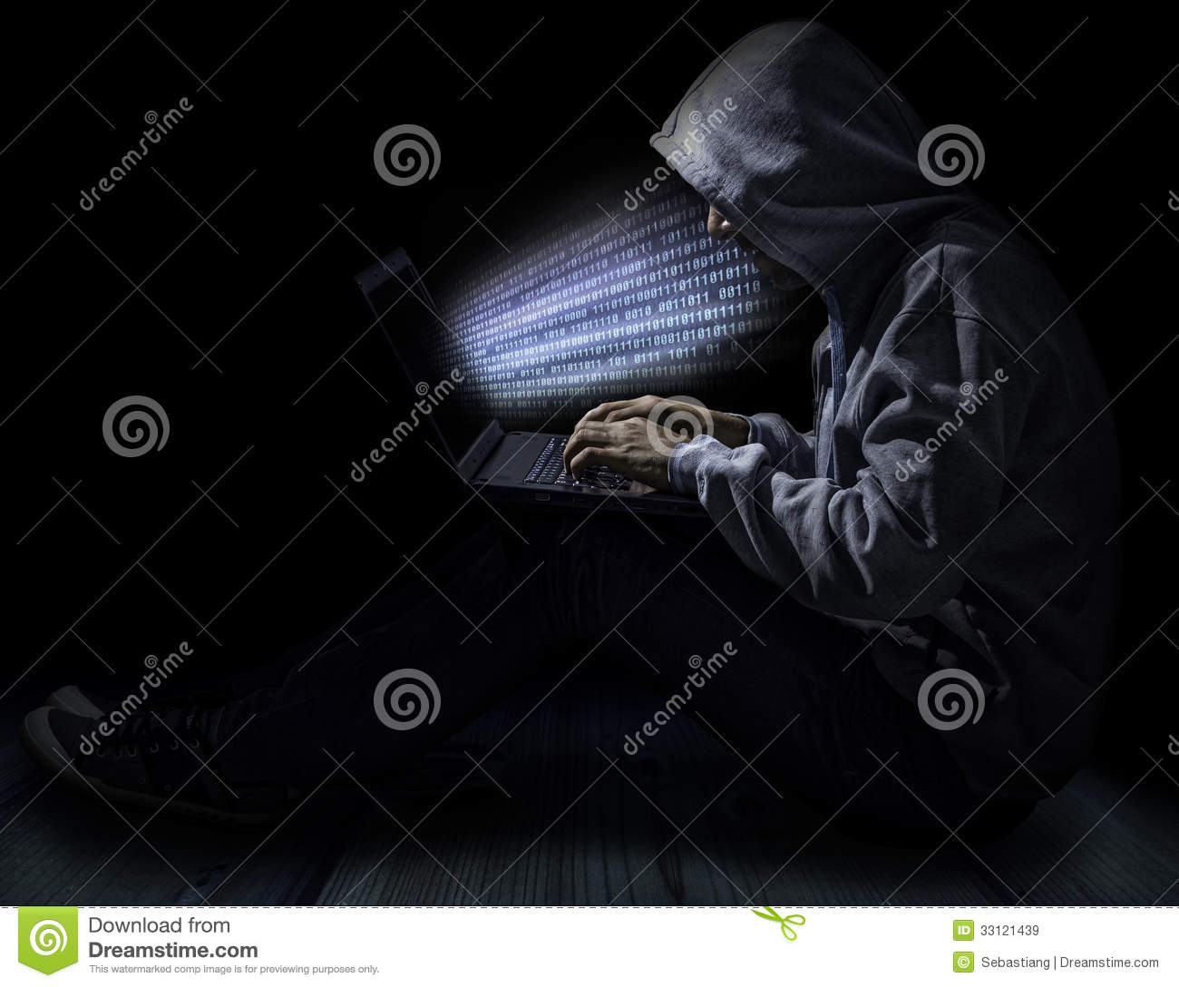 Hacker Royalty Free Stock Images