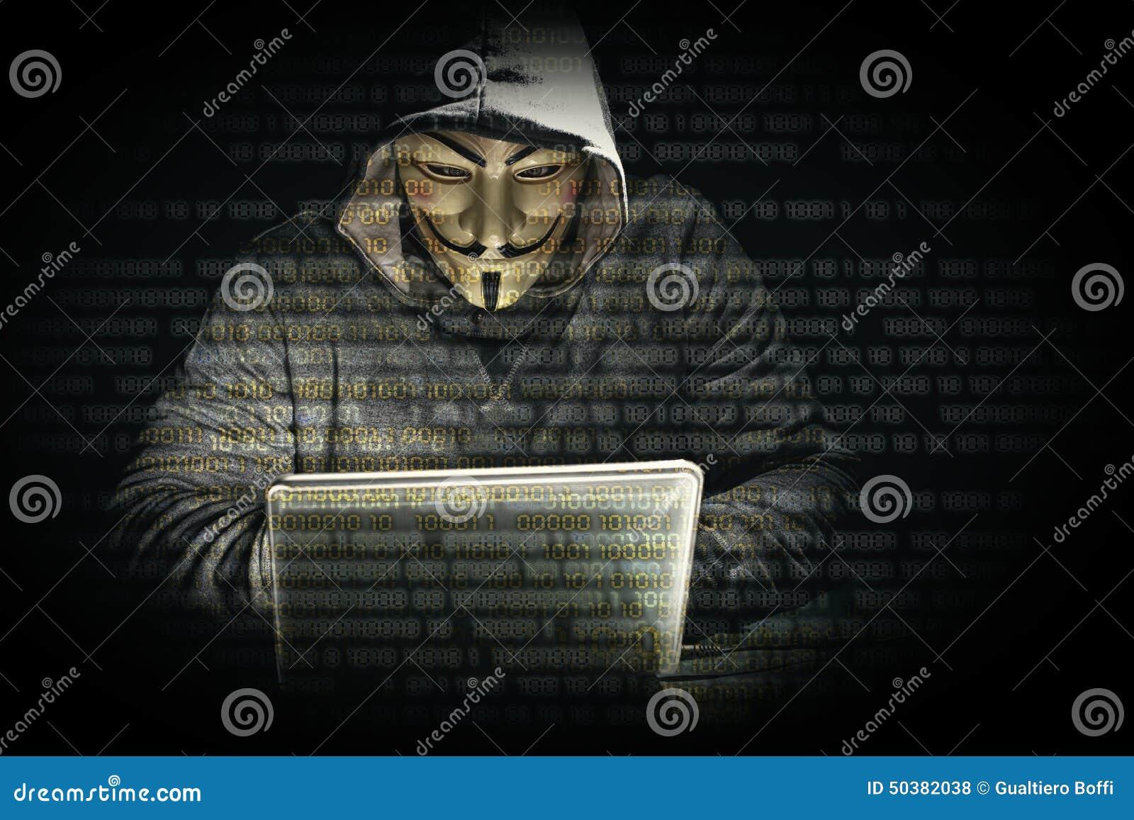 Hacker with mask edito...V For Vendetta Mask Vector