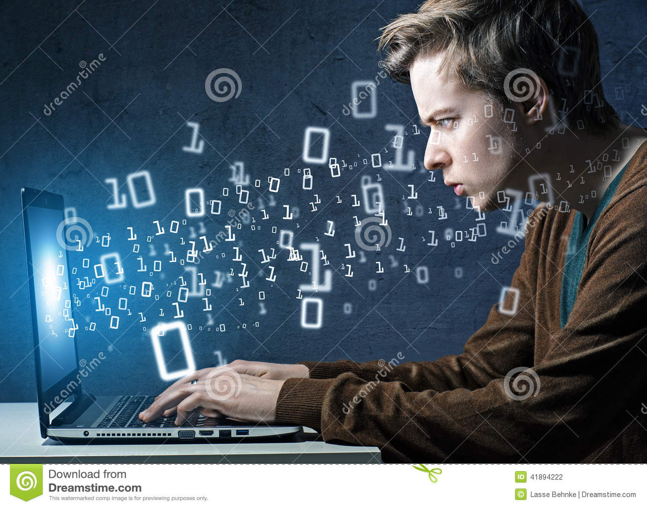 hacker stock photo  image of internet  computer  privacy