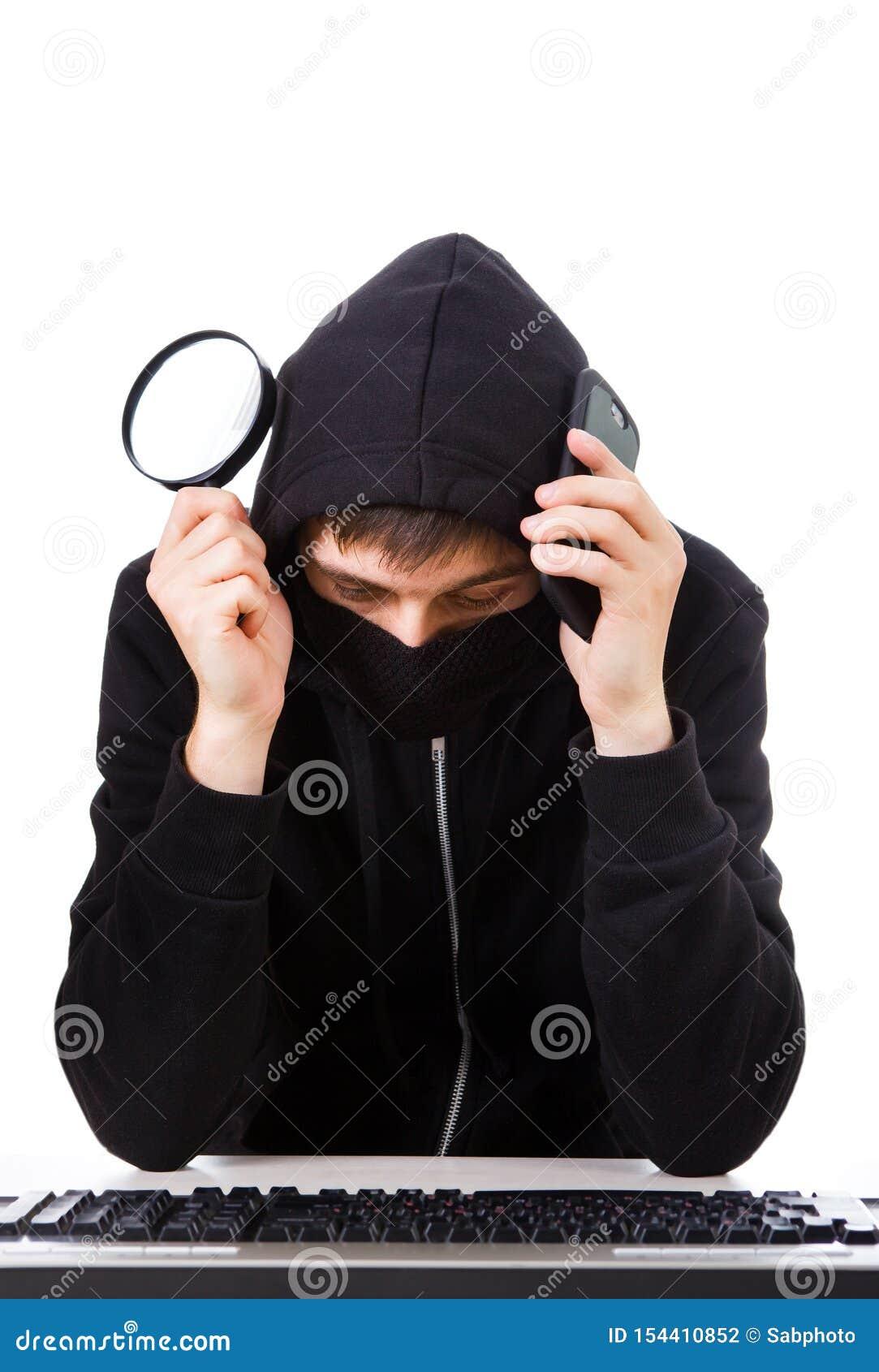 Hacker z klawiatur?