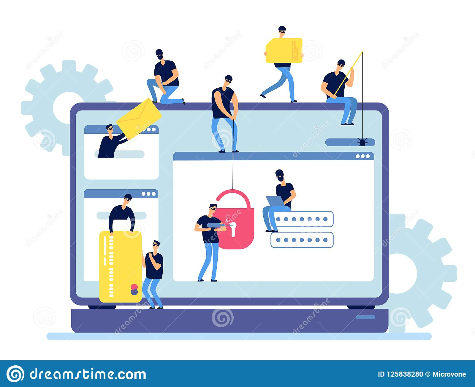 hacker stock illustrations 64 558 hacker stock illustrations vectors clipart dreamstime https www dreamstime com hackers steal information cyber criminals hack personal data computer web security hacker internet activity vector image125838280