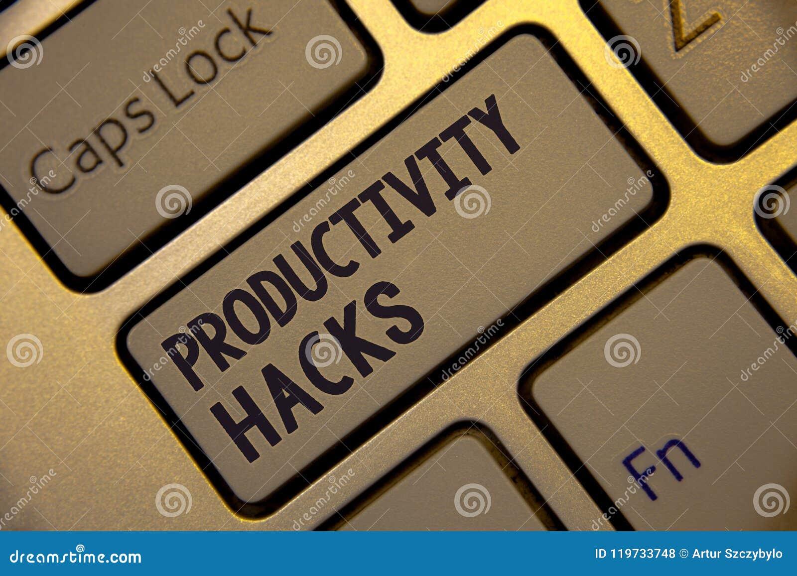 Hackor för produktivitet för handskrifttexthandstil För dataintrånglösningen för begreppet tippar den menande metoden det guld- t
