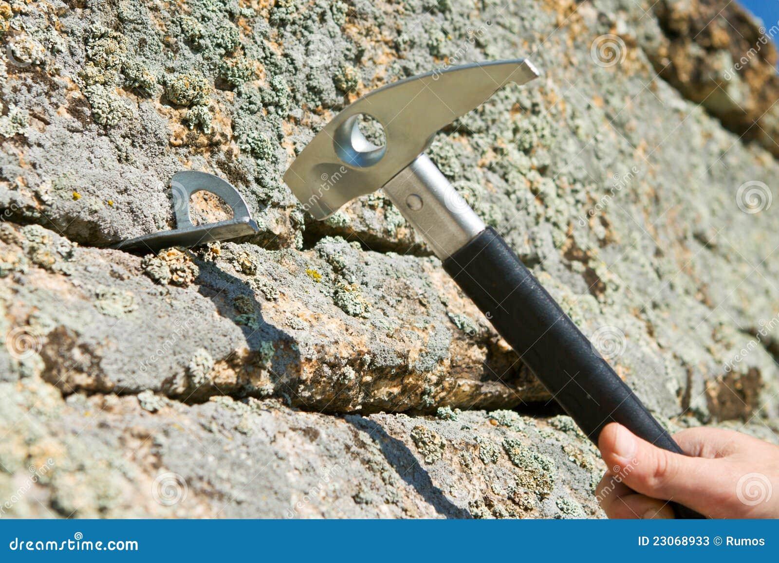 Haczyk krekingowa młoteczkowa skała