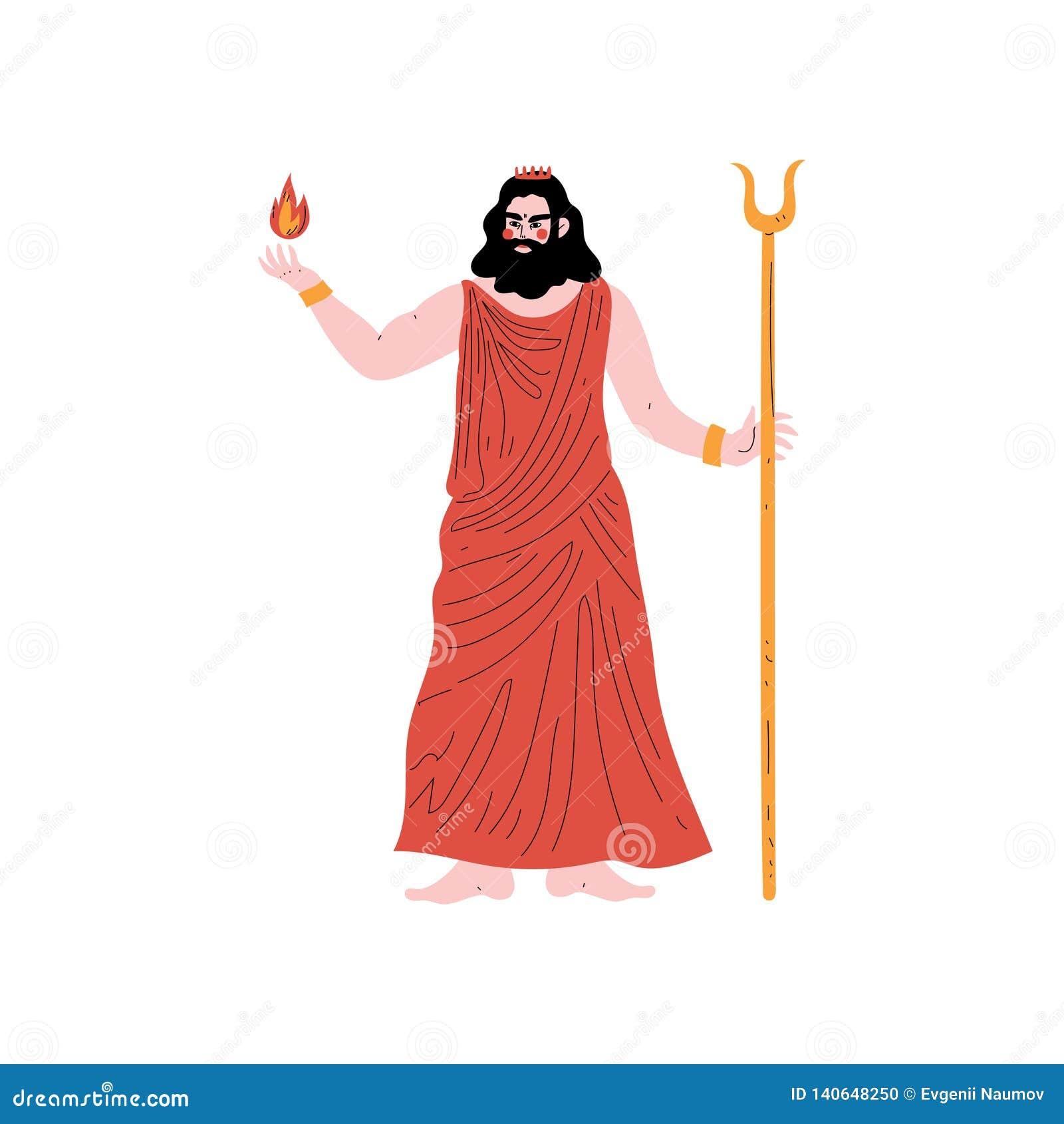 Hades Olympian Greek God, Ancient Greece Mythology Hero ...