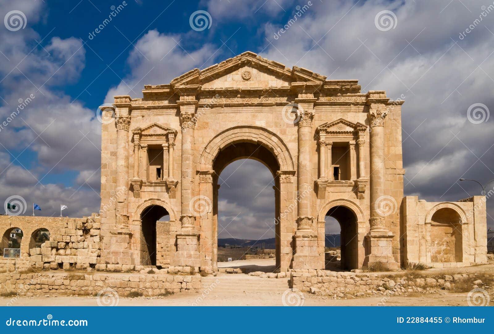 Hadrians Arch Royalty Free Stock Photo - Image: 22884455