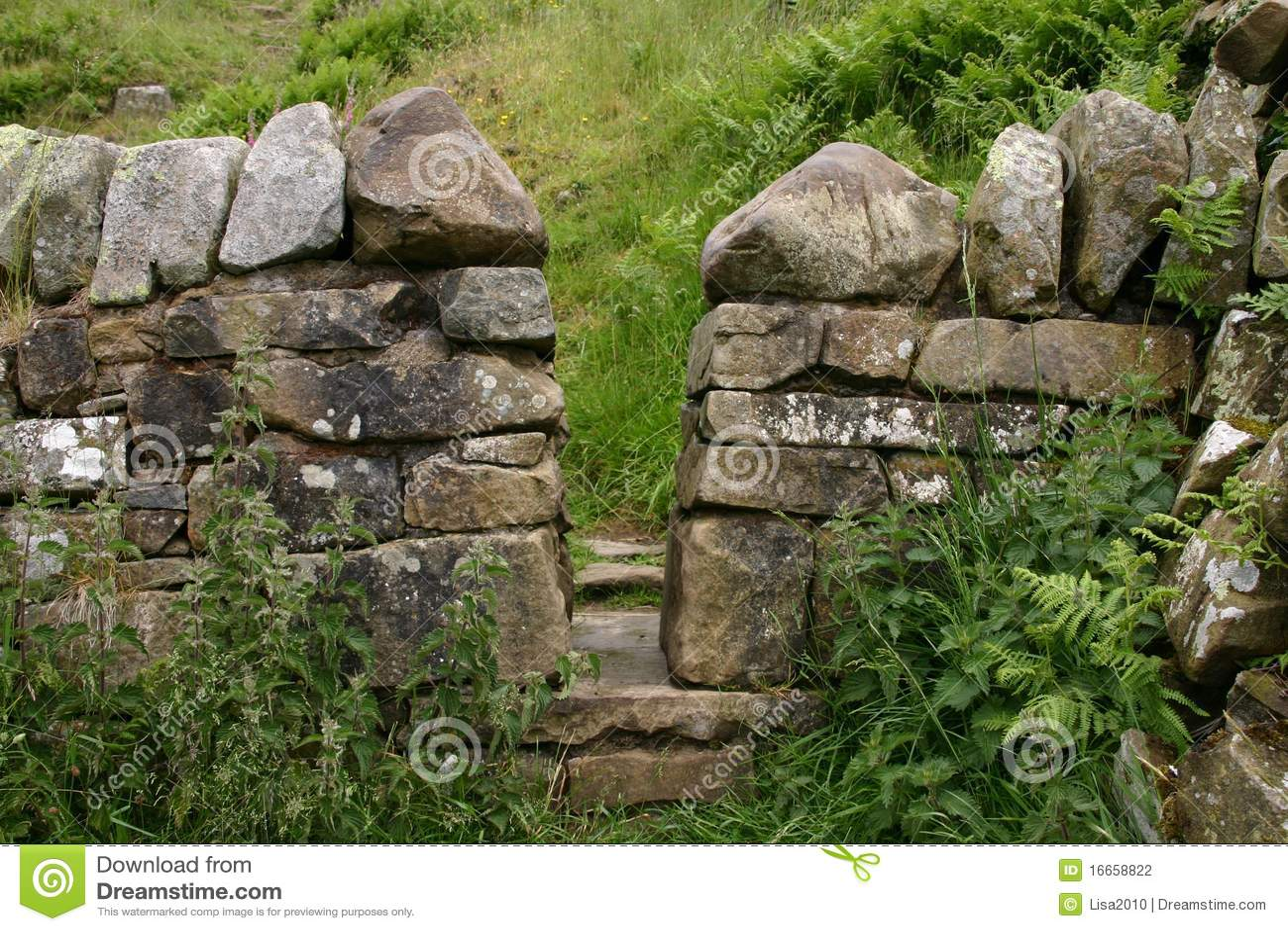 Hadrians Scotland ściana