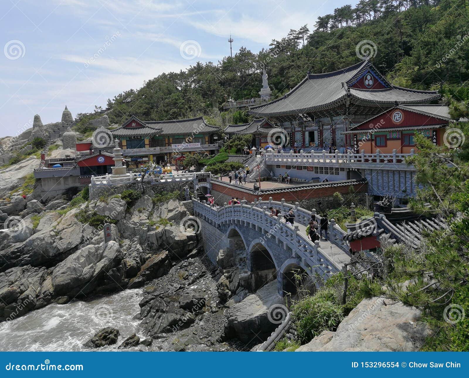 Haedong Yonggungsa寺庙,釜山
