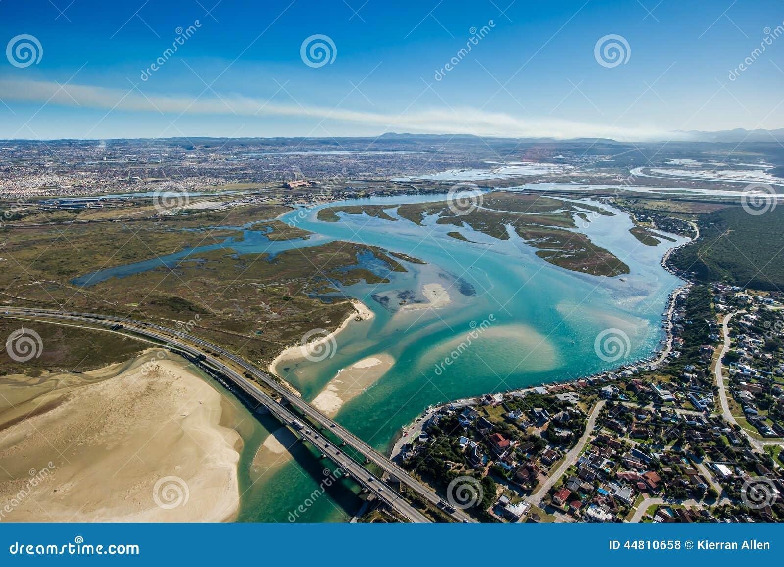 Hafen-Elizabeth Blue-Wasserbucht Südafrika