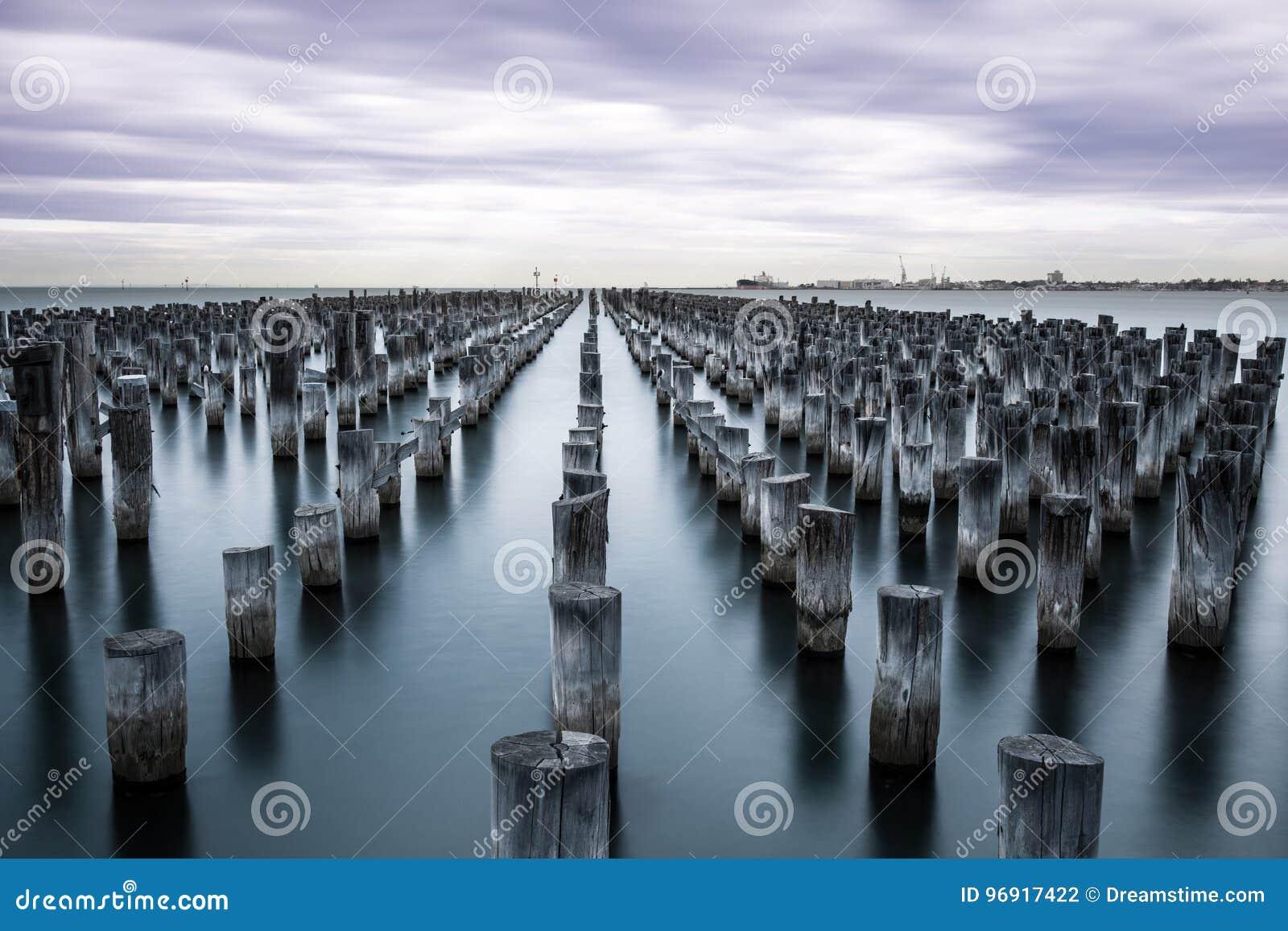 Hafen Melbourne