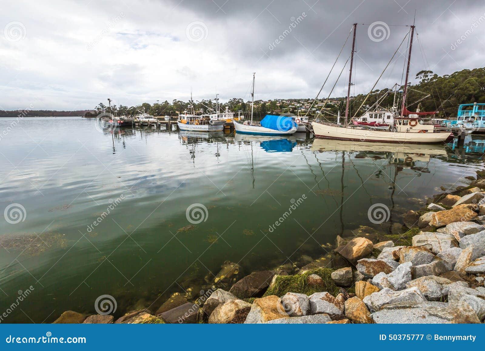 Hafen von St. Helens, Tasmanien