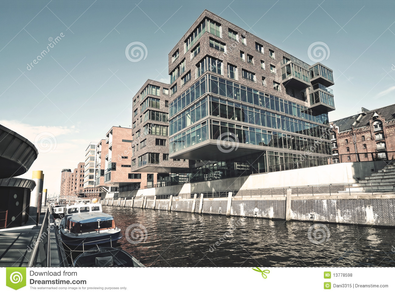 Hafencity In Hamburg Royalty Free Stock Photos - Image: 13778598