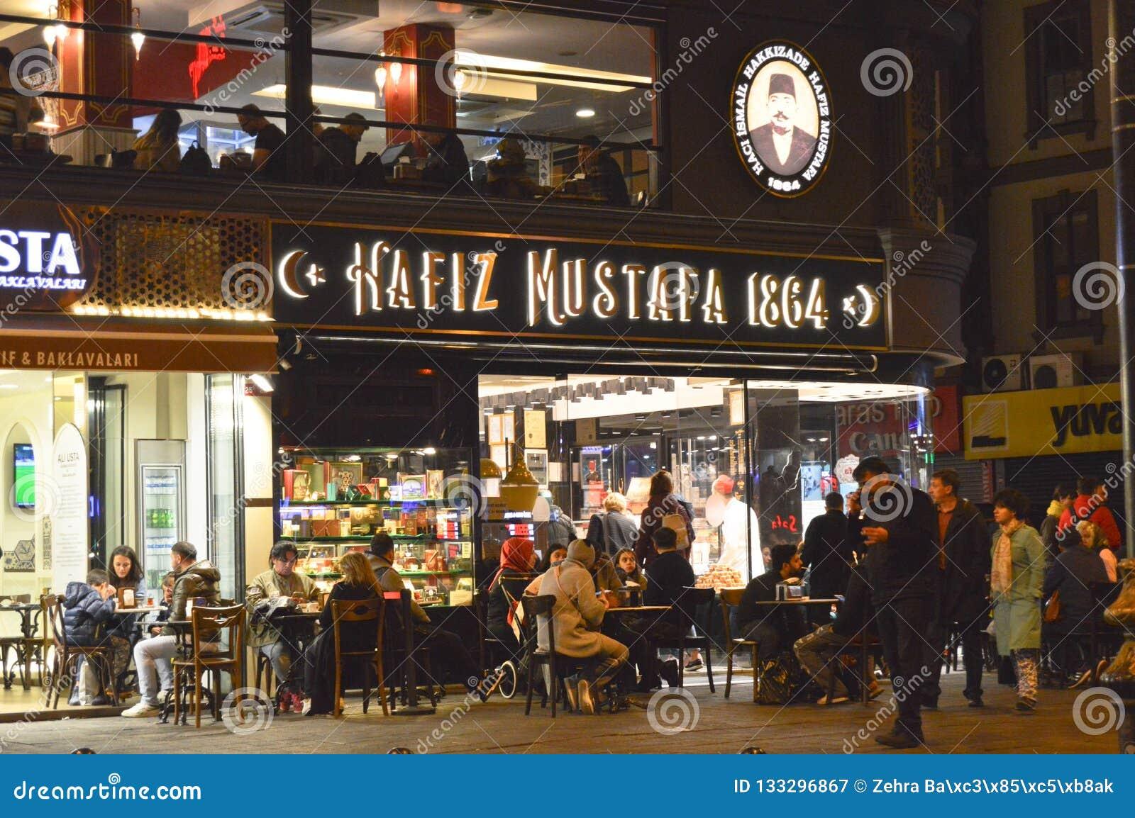 Hafiz Mustafa Estambul 1864 Sirkeci