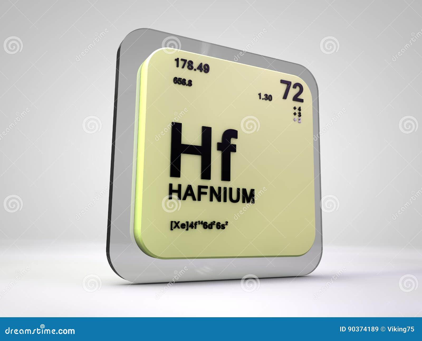 Hafnium hf chemical element periodic table stock illustration hafnium hf chemical element periodic table gamestrikefo Images