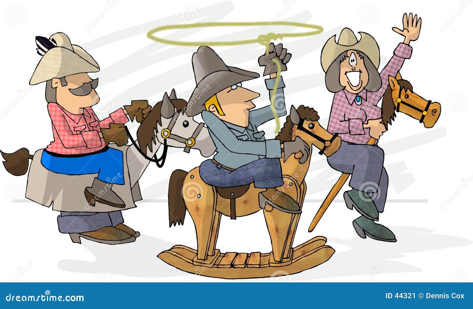 Download Haga para creer el rodeo stock de ilustración. Ilustración de historieta - 44321