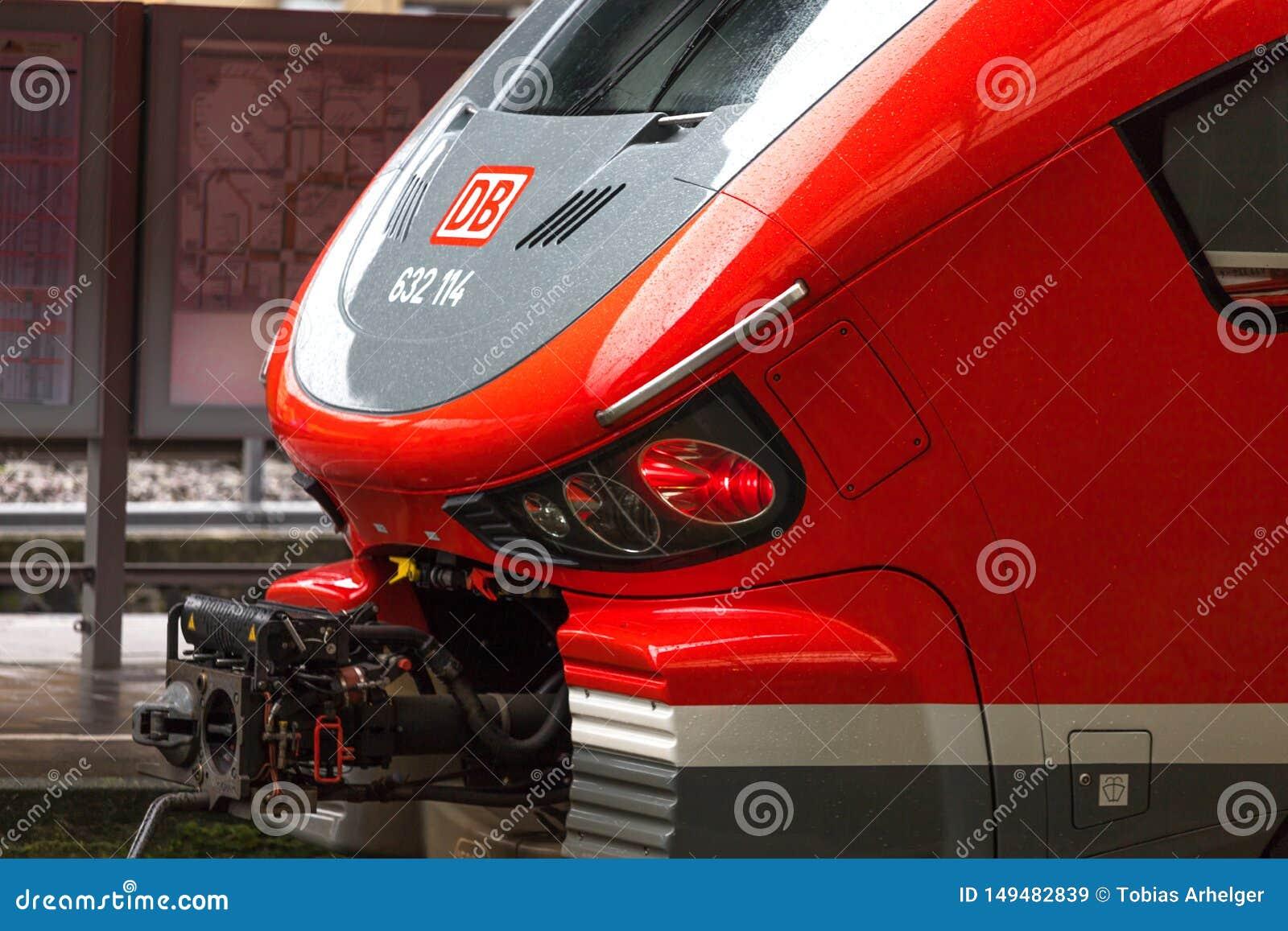 Db Train in Hagen Germany