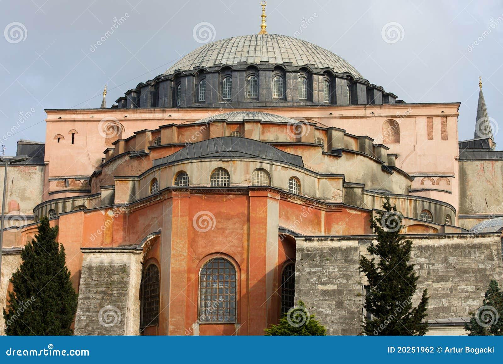 Hagia sophia byzantine architecture stock photography for Architecture byzantine