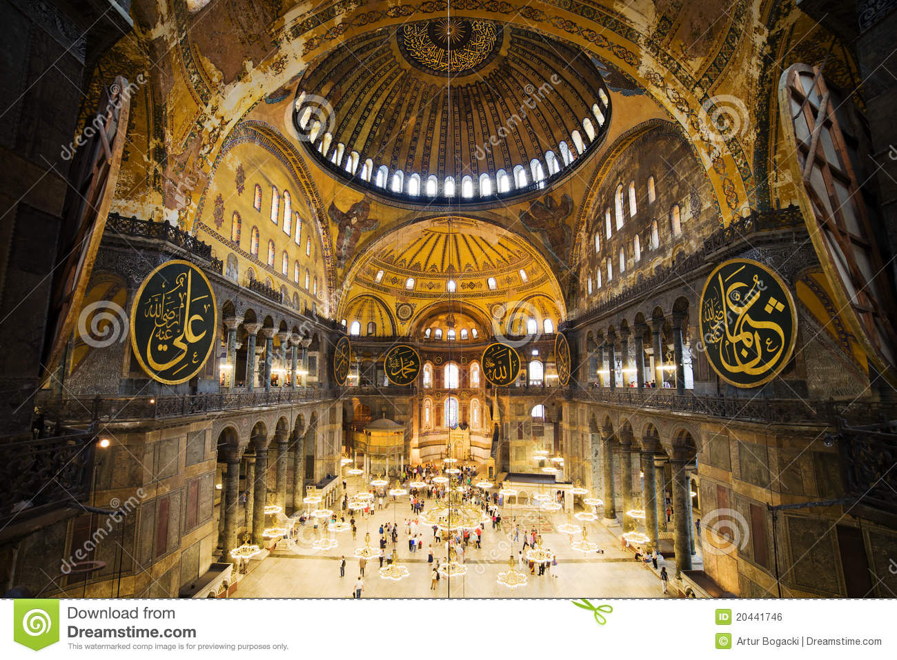 File:Inside the Church of Hagia Sophia.jpg - Wikimedia Commons