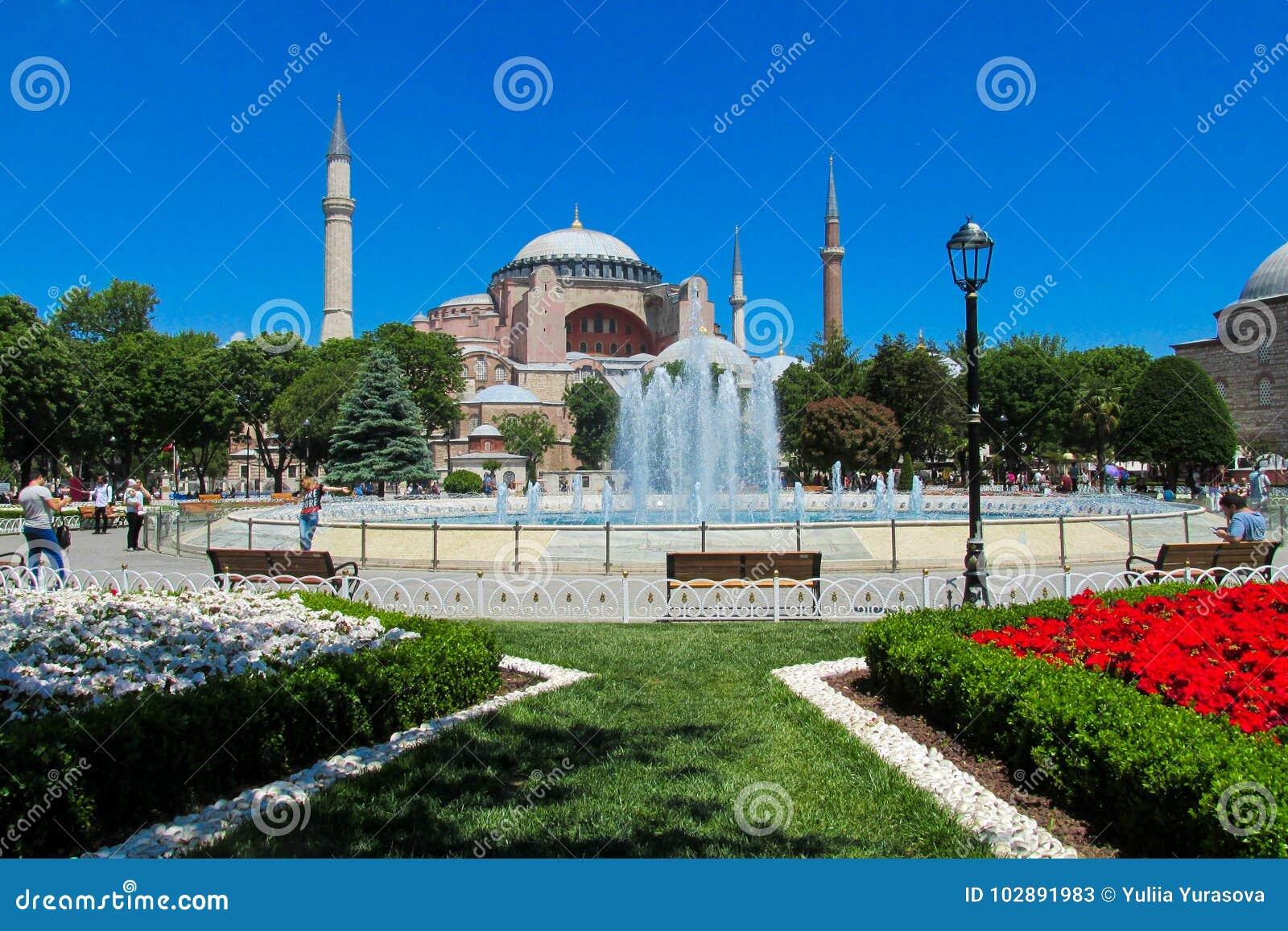 Hagia Sophia in Istanboel, Turkije