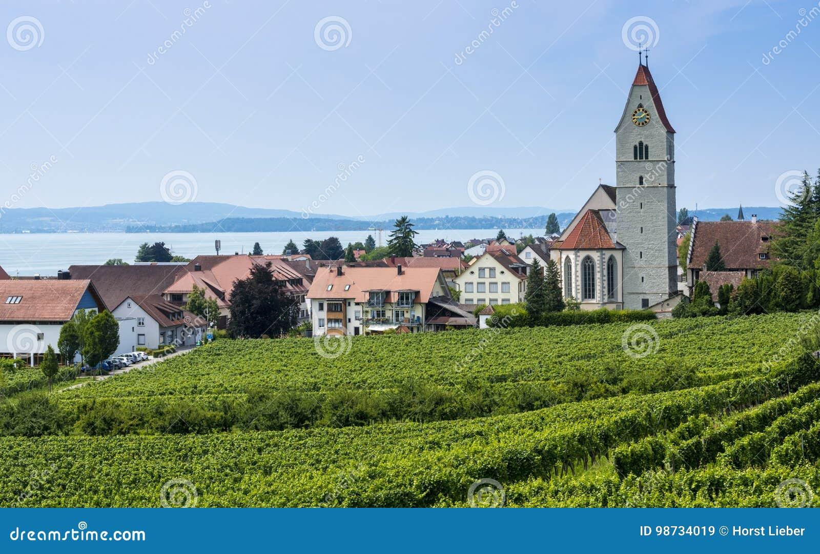 Hagnau - lago Constance, Baden-Wuerttemberg, Alemanha, Europa