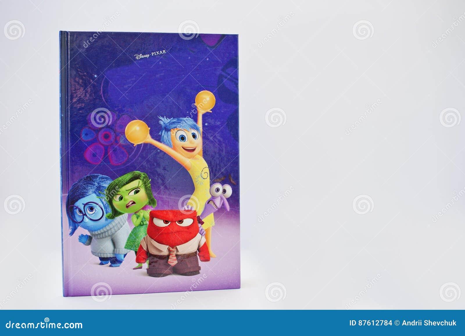 Hai, Ucrânia - 28 de fevereiro de 2017: Desenhos animados animados de Disney Pixar