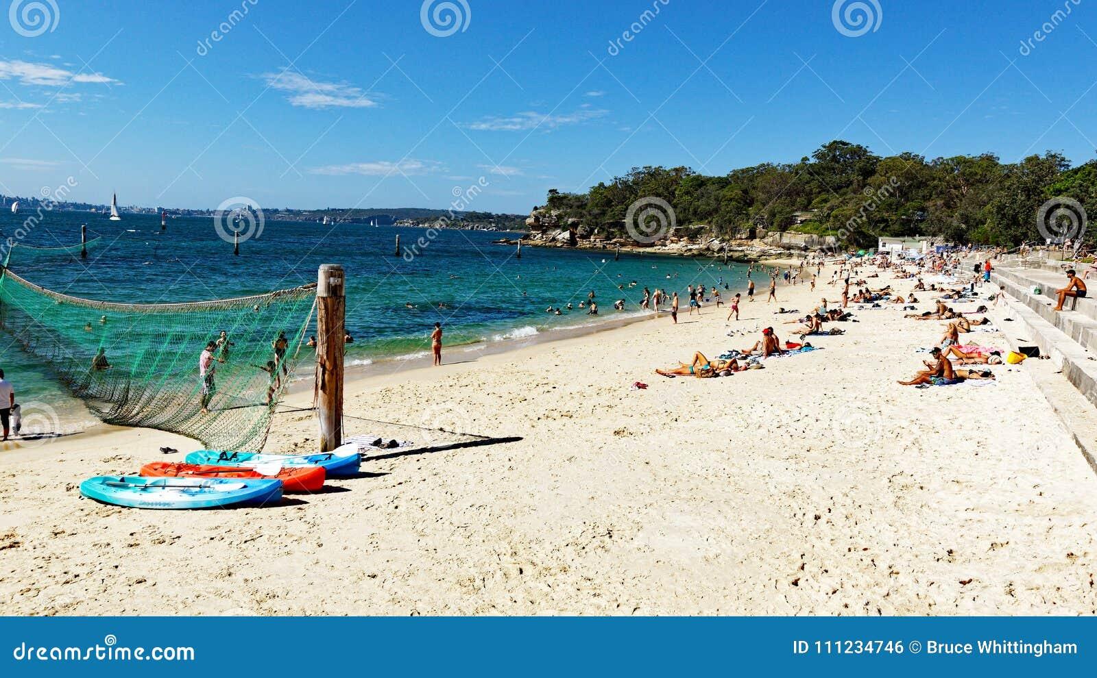 Haifisch-Strand, Nielsen Park, Vaucluse, Sydney, Australien
