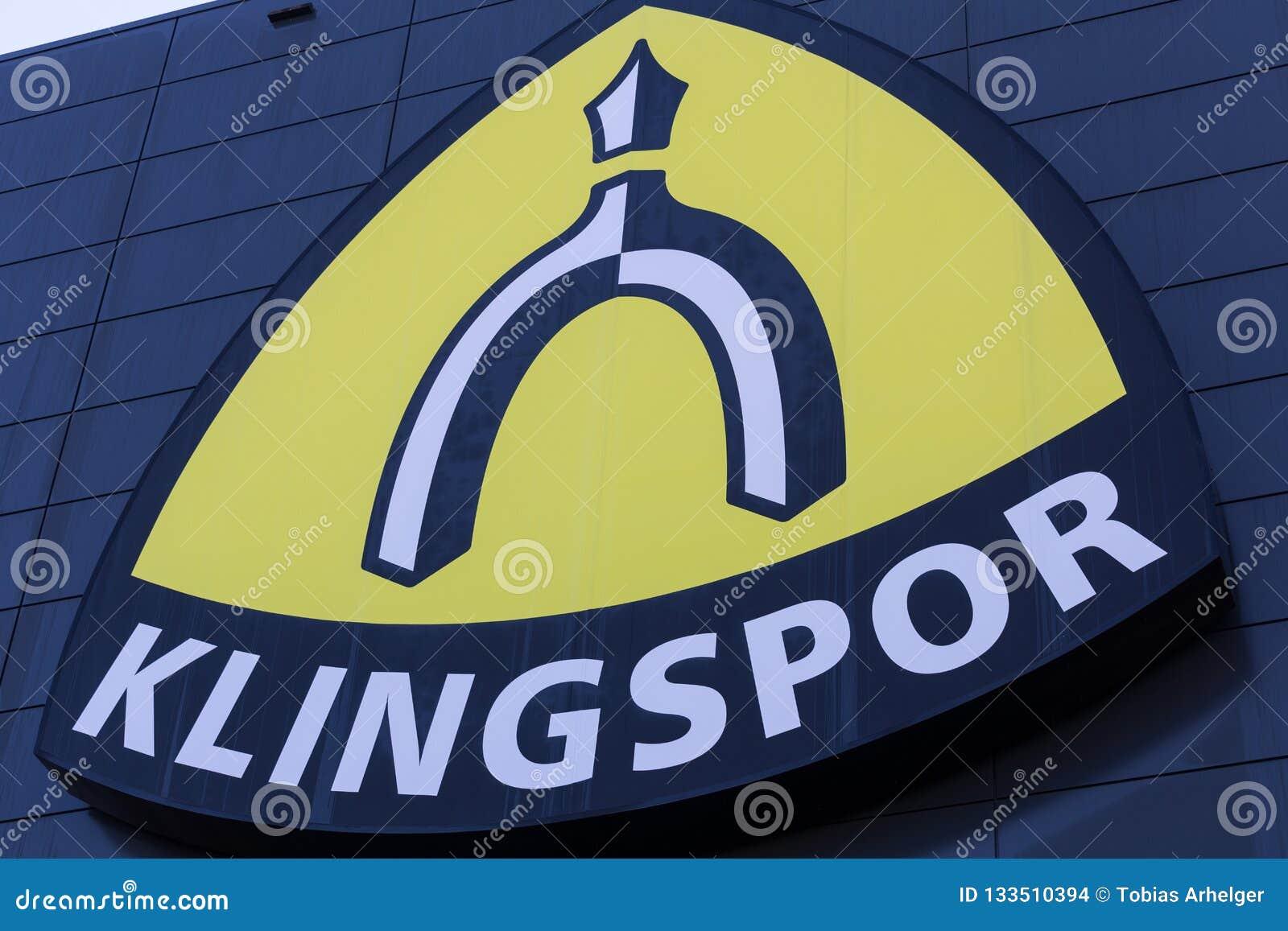 Haiger, Hessen/Deutschland - 17 11 18: klingspor Fabrik im haiger Deutschland