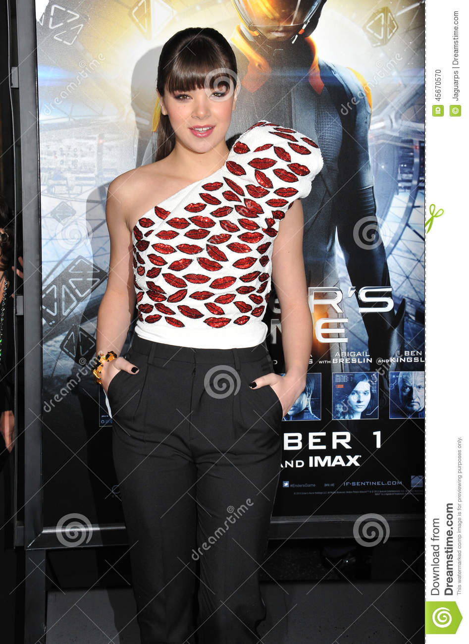 hailee steinfeld editorial image image of movie contact 45670570