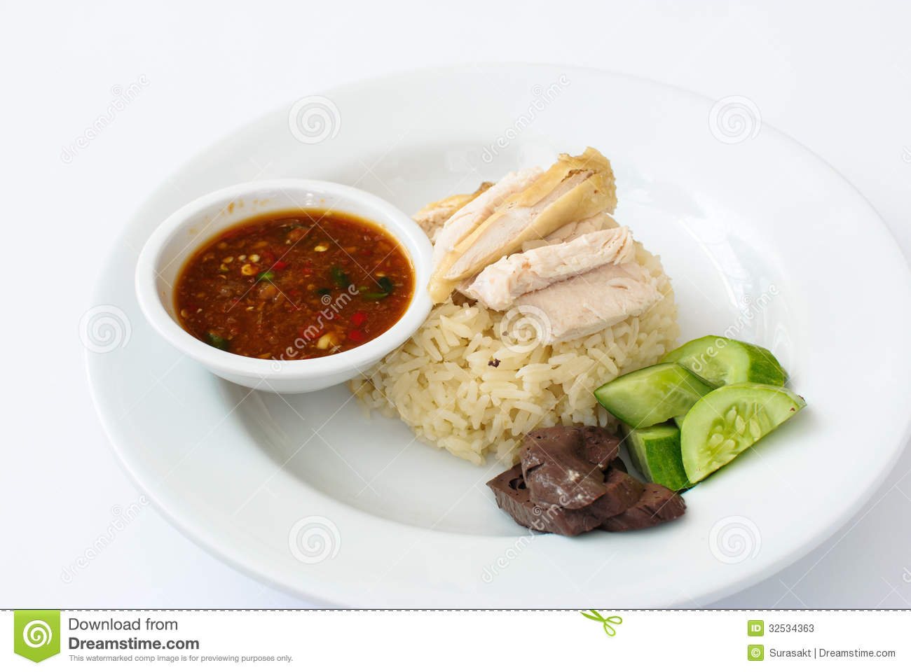 Chicken Hainanese Paste Rice Sauce