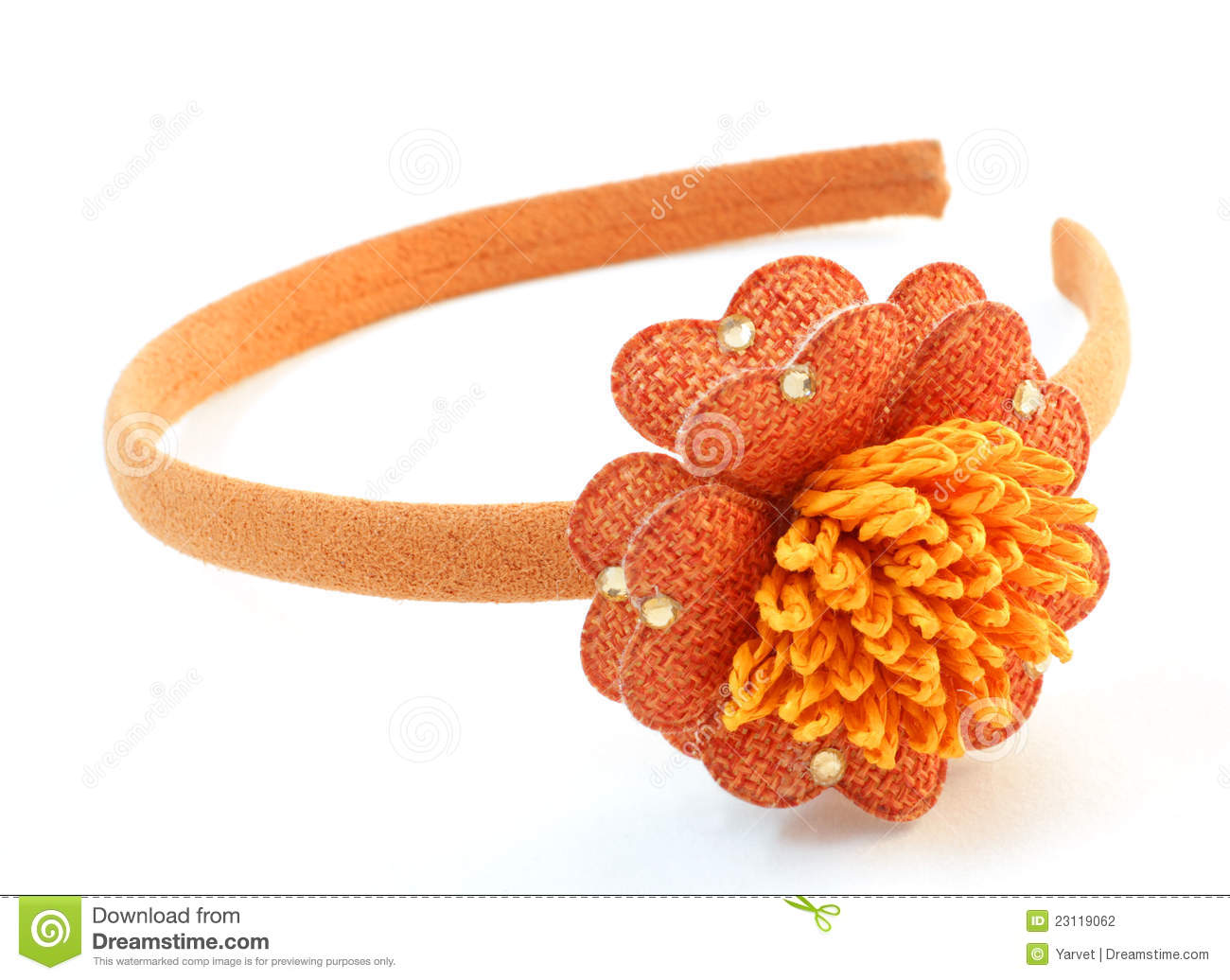 abstract orange bands
