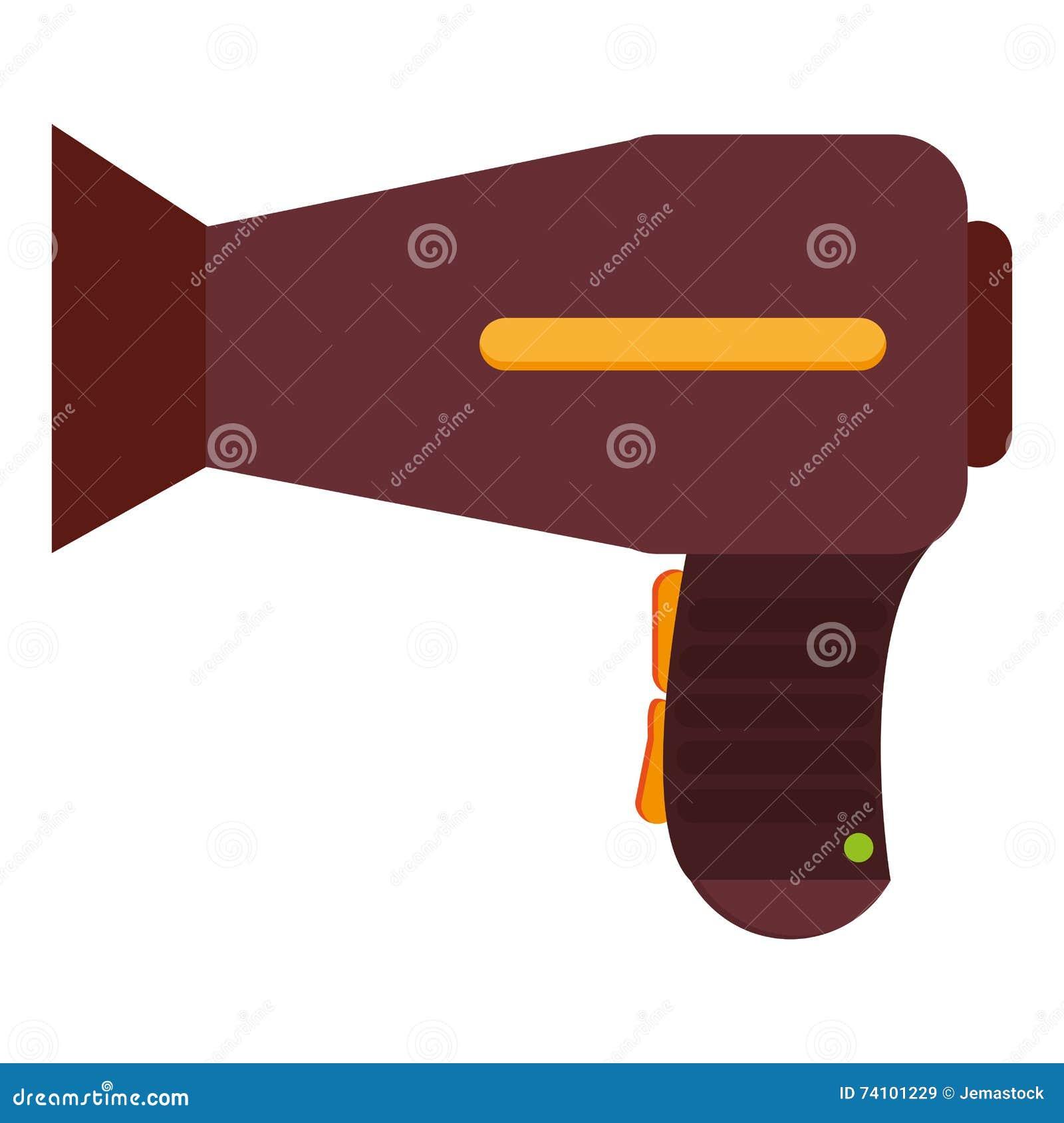 Blowdryer Vector Illustration   CartoonDealer.com #49002506