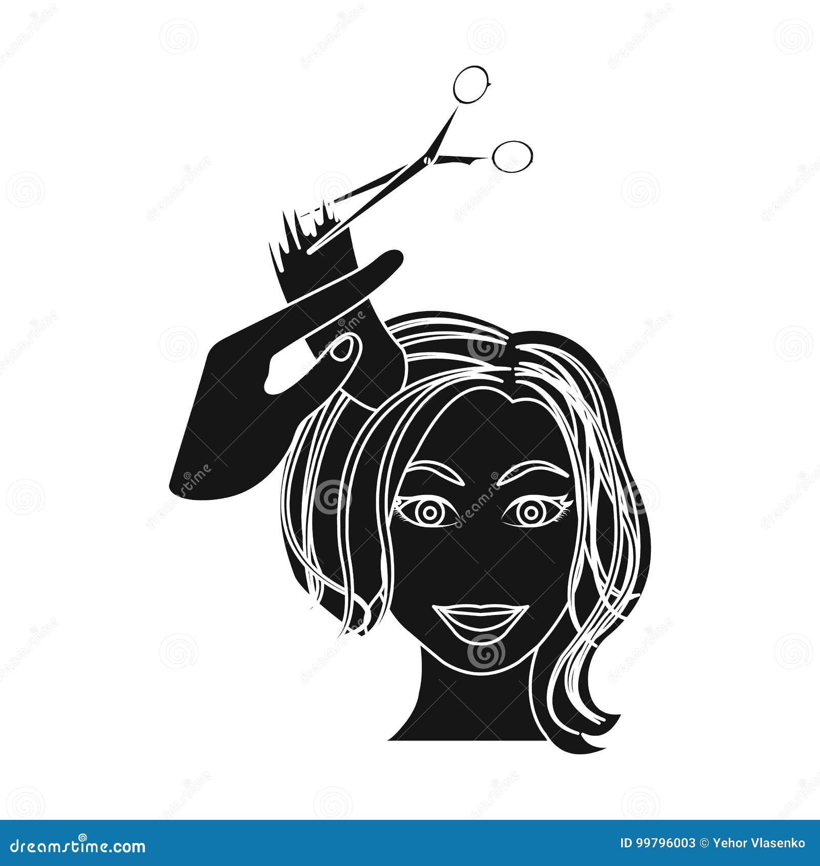 Hair Cutting Scissors Cartoon 21