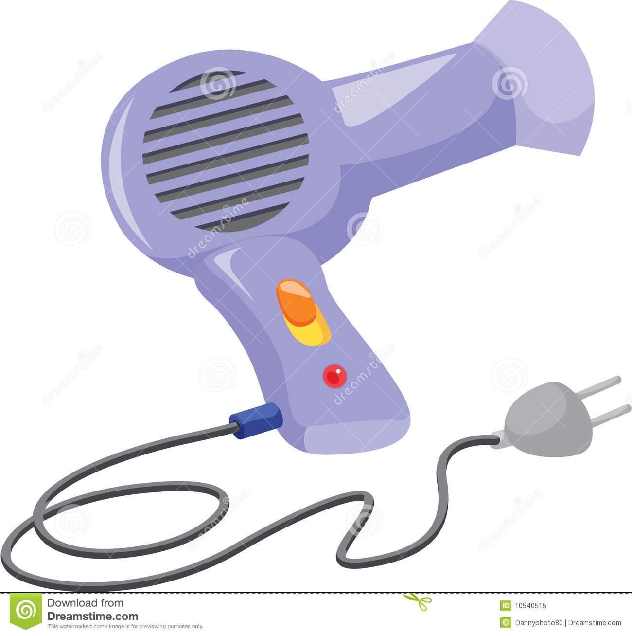 Hair Dryer Royalty Free Stock Photo - Image: 10540515