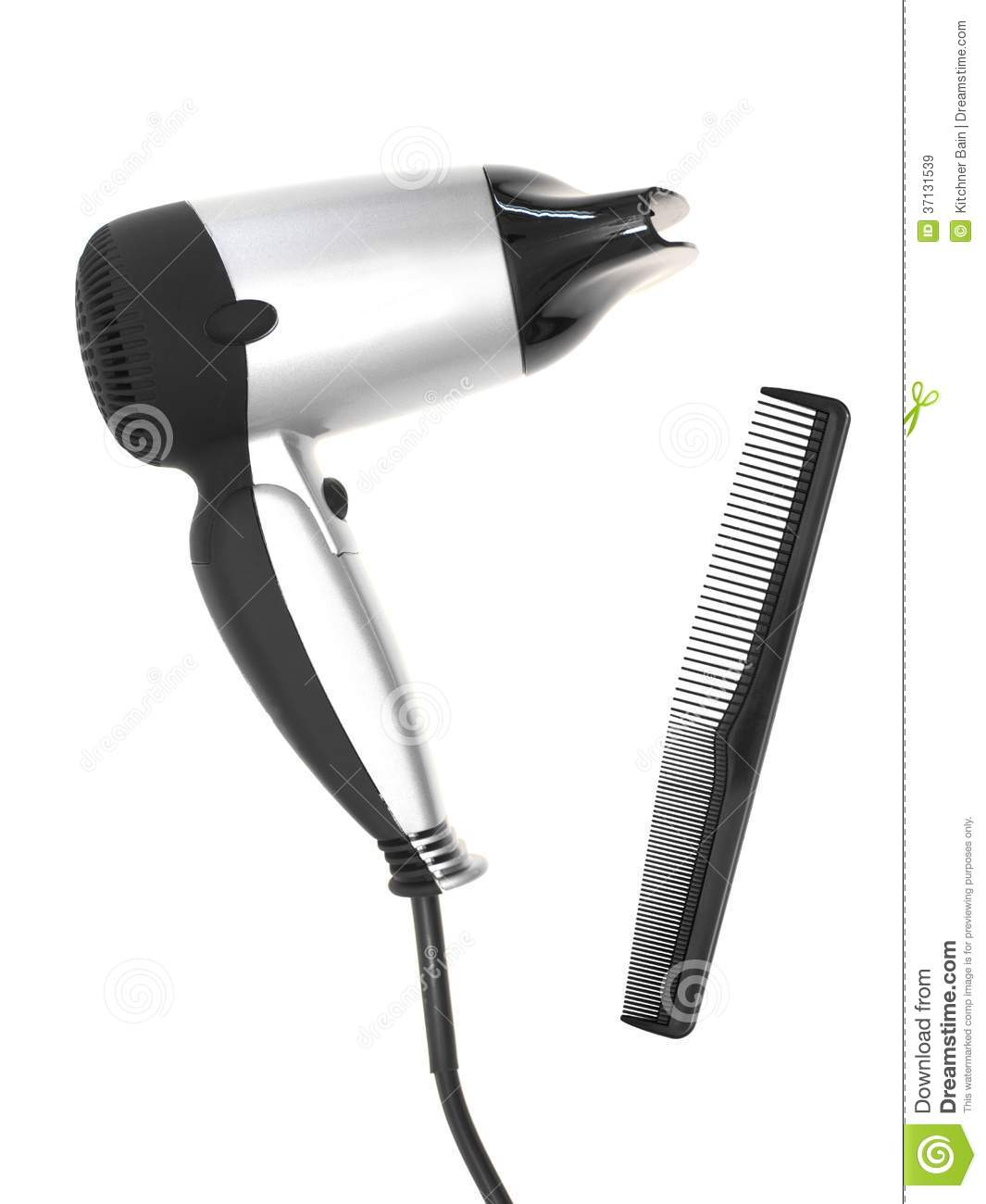 Animated Hair Dryer ~ Hair dryer royalty free stock images image