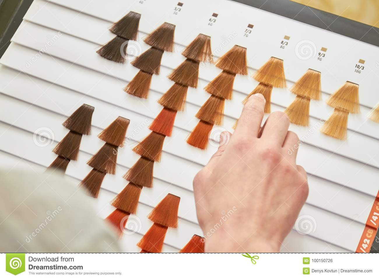 Amazon. Com: tofafa hair extensions color rings hair color chart.