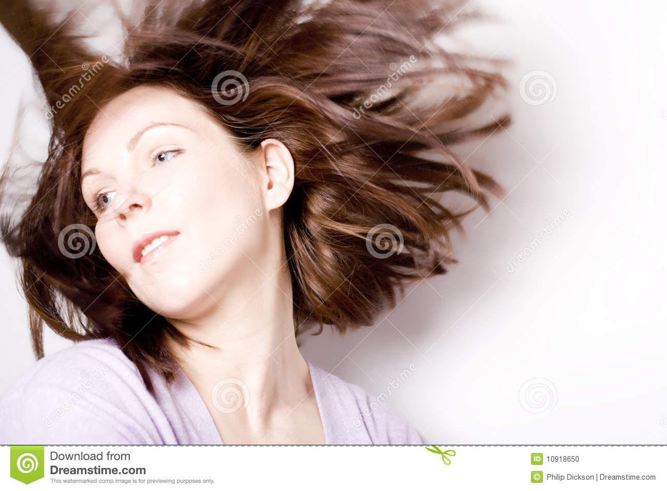 Hair Flow Stock Photo Image Of Beauty Contentment Freedom 10918650