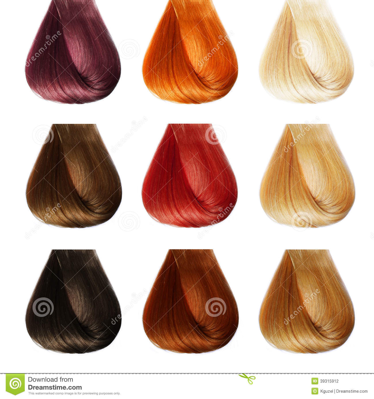 Pictures Of Different Hair Colors